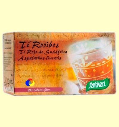 Té Rooibos Infusión - Santiveri - 20 bolsitas