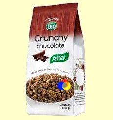Crunchy Chocolate Bio - Santiveri - 400 gramos