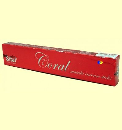 Incienso Masala Coral - Sital - 15 gramos +*
