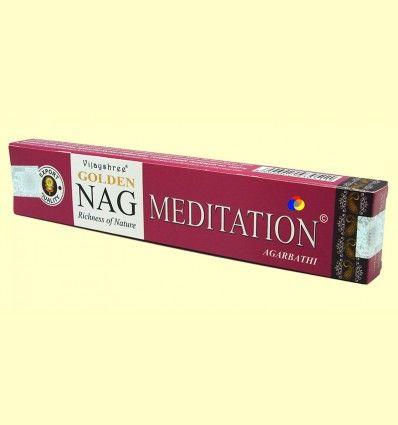 Incienso Nag Meditation Agarbathi - Vijayshree - 15 gramos
