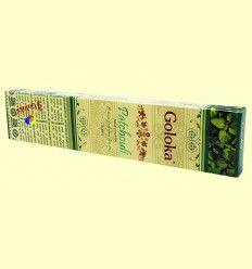 Incienso Patchouli - Goloka - 15 gramos
