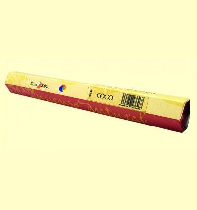 Incienso Natural Coco - Tierra 3000 - 20 varillas