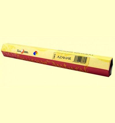 Incienso Natural Azahar - Tierra 3000 - 20 varillas