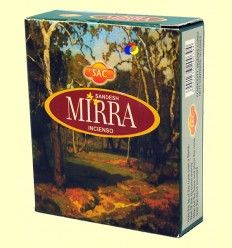 Incienso Mirra - SAC - 10 conos
