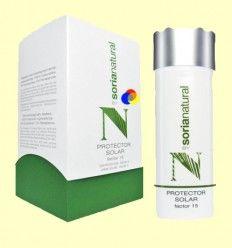 Protector Solar Factor 15 - Cosmética Solar - Soria Natural - 150 ml