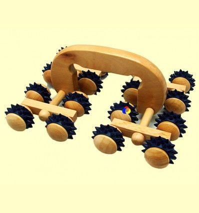 Masajeador Corporal Tractor 16 rodillos - Tierra 3000