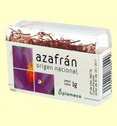 Azafrán de Origen Nacional - Plameca - 1 gramo