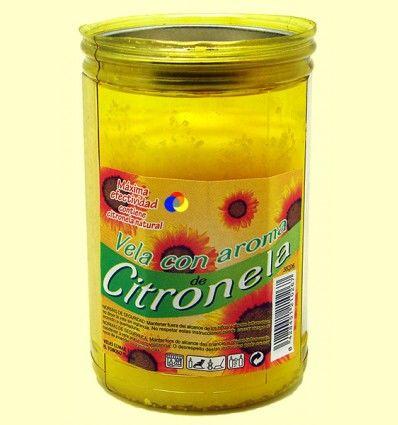 Vela - Velón con tapa aroma Citronela