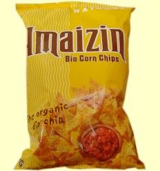 Corn Chips Maiz Familiar Bio - Amaizin - 150 gramos