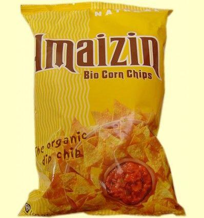 Corn Chips Maiz Familiar Bio - Amaizin - 150 gramos