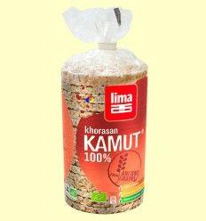 Tortitas de arroz cereales KAMUT® KHORASAN bio - Lima - 100 gramos