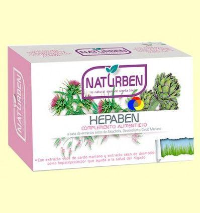 Hepaben - Hepatoprotector - Naturben - 60 comprimidos