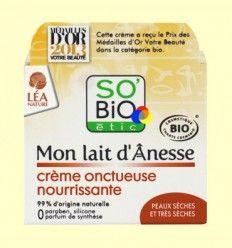 Crema Nutritiva Mon Lait D'Anesse - So'Bio êtic - 50 ml