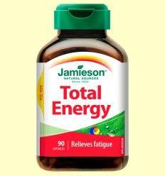 Total Energy - Energético - Jamieson - 90 cápsulas *