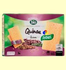 Tostadas Ligeras Quinoa Bio - Santiveri - 2 x 100 gramos