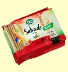 Tostadas Ligeras Salvado Bio - Santiveri - 125 gramos******