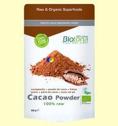 Cacao Polvo Bio - Biotona - 200 gramos