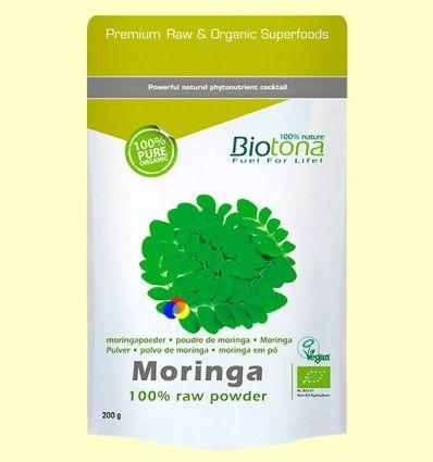Moringa polvo Bio - Biotona - 200 gramos