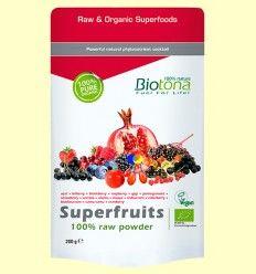 Superfruits polvo Bio - Biotona - 200 gramos