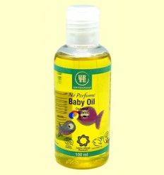 Aceite para bebés sin perfume bio - Urtekram - 100 ml