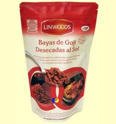 Bayas de Goji desecadas al Sol - Linwoods - 250 gramos