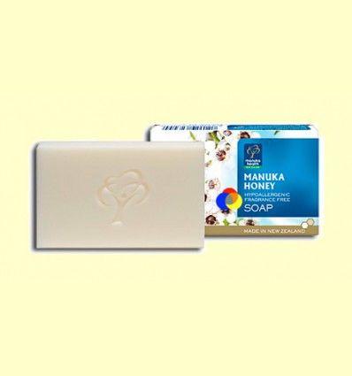 Jabón Hipoalergénico Hidratante y Reparador Miel de Manuka MGO 250+ Manuka Honey - Manuka World - 100 gramos