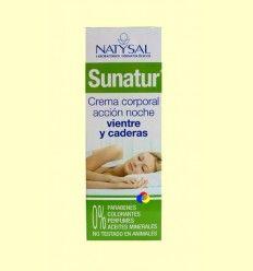 Sunatur Crema Corporal Reductora Acción Noche Vientre y Caderas - Natysal - 200 ml