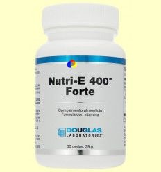 Nutri-E 400™ Forte - Vitamina E - Laboratorios Douglas - 30 perlas *+