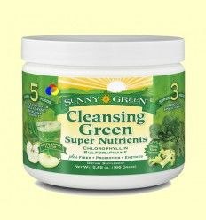 Cleansing Green Super Nutrientes - Sunny Green - 166 gramos