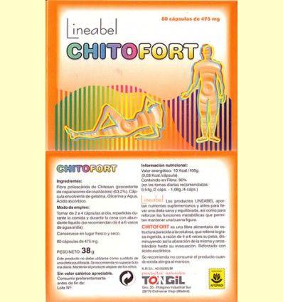 Chitofort - Tongil - 80 cápsulas