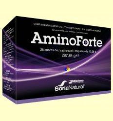 AminoForte - Aminoácidos vegetales - MGdose - 10 sobres