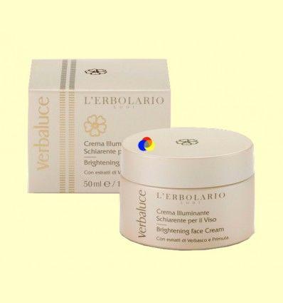 Crema Iluminadora para el Rostro Verbaluce - L'Erbolario - 50 ml