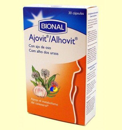 Ajovit - Circulación - Bional - 30 cápsulas