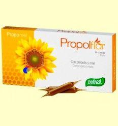 Propolflor - Própolis y Miel - Santiveri - 12 ampollas