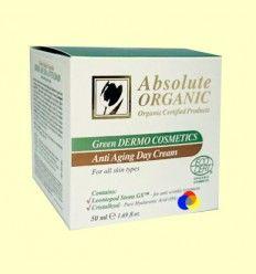 Crema de Día Antiedad Células Madre Vegetales Absolut Organic - Absolut Organic Cosmetic - 50 ml +*