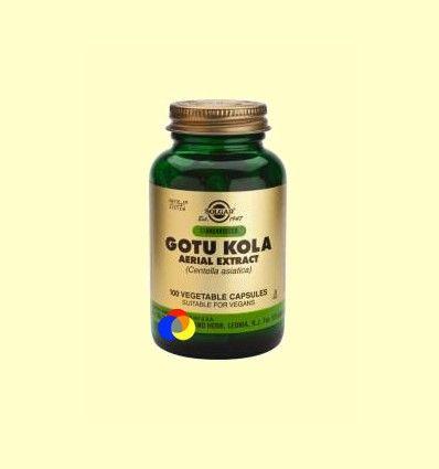 Gotu Kola Extracto Aéreo - Solgar - 100 cápsulas
