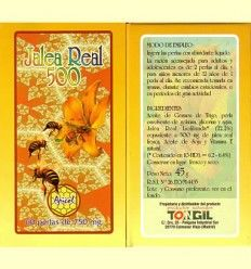 Jalea Real 500 - Tongil - 60 perlas