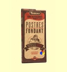 Postres: Chocolate Negro para Fundir sin Azúcar - Torras - 200 gramos