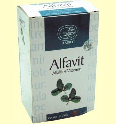 Alfavit Economy Pack - Eladiet - 500 comprimidos de 400 mg