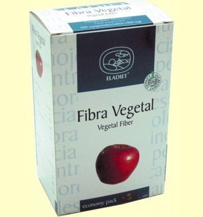 Fibra Vegetal Economy Pack - Eladiet - 500 comprimidos de 400 mg