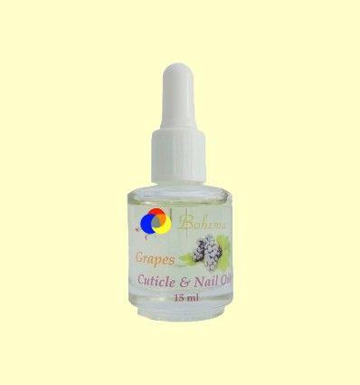 Aceite para las uñas y cutículas Uva - Bohema - 15 ml