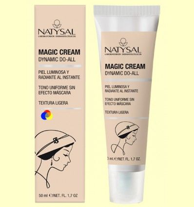 Magic Cream - Crema hidratante y antiarrugas - Natysal - 50 ml