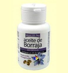 Aceite de borraja - Hijas del Sol - 100 cápsulas