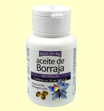 Aceite de borraja - Hijas del Sol - 100 cápsulas ******