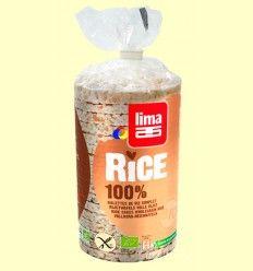 Tortitas de Arroz 100% Bio - Lima - 100 gramos