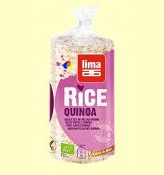 Tortitas de Arroz Quinoa Bio - Lima - 100 gramos