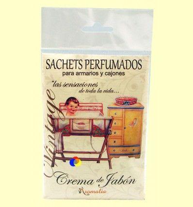 Saquito perfumado - Aroma Crema de Jabón - Aromalia - 1 saquito