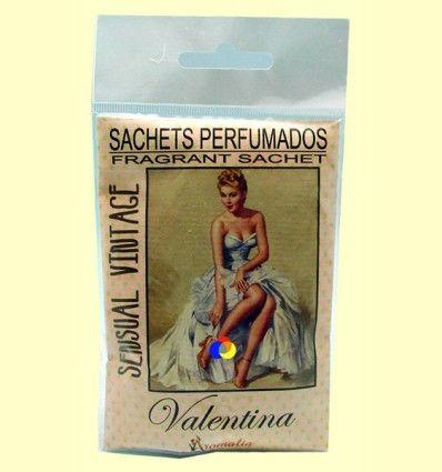 Saquito perfumado - Aroma Sensual Vintage Valentina - Aromalia - 1 saquito