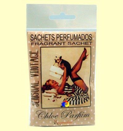 Saquito perfumado - Aroma Sensual Vintage Chloe Parfúm - Aromalia - 1 saquito