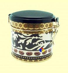 Lata Redonda Jacco para guardar Té o Café con capacidad 80 gramos - Cha Cult - 1 unidad